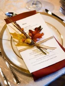 deco mesa boda otoño